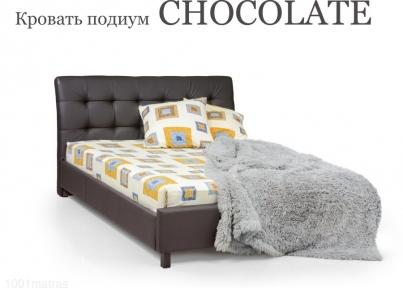 Кровать подиум CHOCOLATE ортоленд