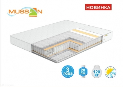 БАЛАНС Софт матрас  TM MUSSON (UA)